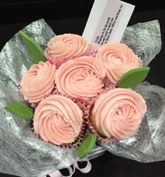 Cupcake Bouquet! Available to buy in the Leek / Stoke on Trent area. Contact me through ACupfulofcake!