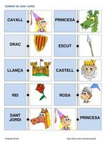 Title: DOMINO SANT JORDI, Author: Length: 2 pages, Published: Dragons, Cooperative Learning, Crafts For Kids, Projects To Try, Language, Author, Drake, Teaching, School