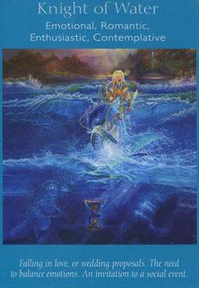 Knight of Water; Knight of Cups – Angel Tarot Card Deck | Kevin Hunter 8/9/13