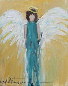 """73 -  Stolen Angel"" original fine art by Lisa Whitener"