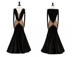 """Park Ave"" dress by Encore Ballroom $1,100"