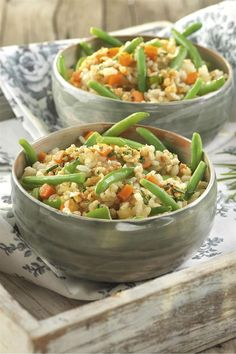 Arroz integral con verduras - Always in Health Vegetarian Recipes, Cooking Recipes, Healthy Recipes, Healthy Food, Plant Based Diet, Vegan Life, My Favorite Food, Good Food, Food And Drink