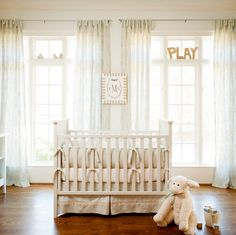 #nursery, #crib, #traditional    View entire slideshow: 20 Traditional Nursery Ideas on http://www.stylemepretty.com/collection/398/