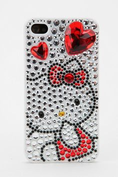 Blinged-out Hello Kitty! #urbanoutfitters #hellokitty #iphone