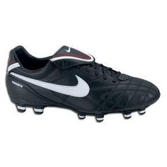 02c2d8a6cfe4 Nike Women s Tiempo Mystic FG III Soccer Cleats (Black White Red) 6.5 on  Sale