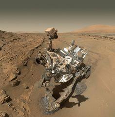 """Selfie"" de Curiosity en la región de Kimberley, en el cráter Glenelg (NASA/JPL/Doug Ellison)."