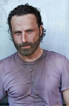 NOW THIS IS WHAT I LIKE.  NO MORE JACKET'S  FOR RICK.  I LOVE THE                 T-SHIRT LOOK - ESPECIALLY A LITTLE WET WITH SWEAT.  NICE.