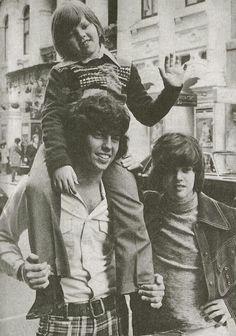 Alan, Jimmy and Donny Osmond