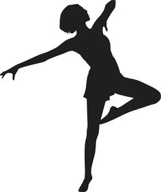 image result for dance leaps silhouette clip art dance pinterest rh pinterest com