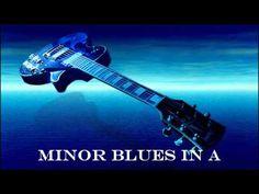 Easy A minor Blues Licks Lesson - YouTube
