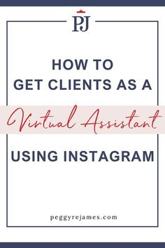 Business Tips, Online Business, How To Get Clients, Virtual Assistant Services, Instagram Tips, Lead Generation, Social Media Tips, Online Marketing, Content Marketing