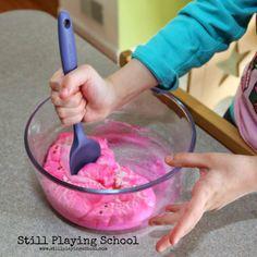Still Playing School: Peeps Play Dough Recipe
