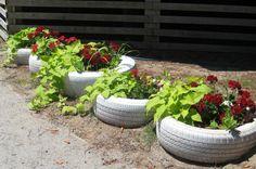 use 2 liter bottles around the inside to use less soil https://www.pinterest.com/pin/473440979547207533/