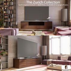 Zurich Collection A/V Furniture TV Stands #dynamichome #dynamichomedecor  #zurich #tvstand