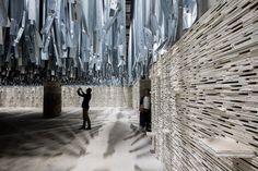 Arsenale entrance exhibition at Venice Biennale 2016