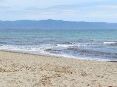 Poetto Beach, Cagliari, South of Sardinia Pláž Poetto - juh Sardínie Beach, Water, Traveling, Outdoor, Gripe Water, Viajes, Outdoors, The Beach, Beaches