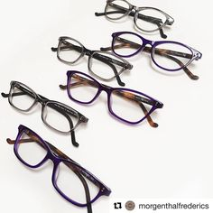 IN STORE NOW!!! ... Look glamourous this week in our Uma, Mila, and Charlize frames in purple tortoise and grey. Inspirted by the leading ladies of Hollywood. #MFsignaturestyle