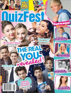 The brand new issue of is out now and we're getting you ready for the first day of school! Teen Magazines, Seventeen Magazine, Ross Lynch, Room Posters, I Love Books, First Day Of School, Pink Aesthetic, Magazine Covers, Celebrity News