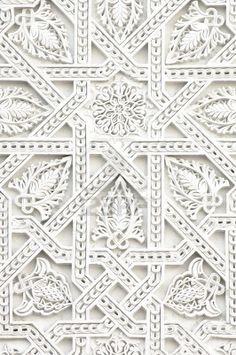 Inspirações de padrões e texturas White Patterns, Textures Patterns, Color Patterns, Print Patterns, Embroidery Patterns, Pattern Art, Pattern Design, Arabic Pattern, Tile Design