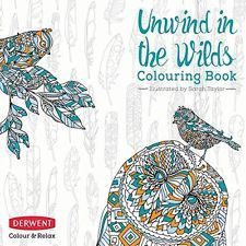 Adult Coloring Book: Color and Relax - Unwind in the Wilds by Derwent (2302338)