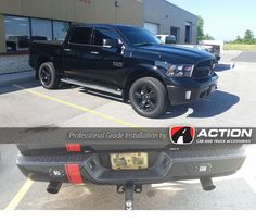 Installed On This F150 Backrack Side Rails Rear Ladder Bar Toolbox By Weather Guard