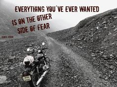 Face your fears.. www.motoquest.com Photo taken in India