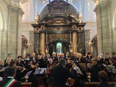 #Concerto con Giulio Monaco, il #coro polifonico e l'ensamble di progetto musica #Oropa