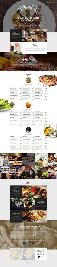 European Cuisine #WordPress Theme #cafe #food http://www.templatemonster.com/wordpress-themes/53766.html?utm_source=pinterest&utm_medium=timeline&utm_campaign=eurmagrth