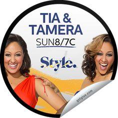 Steffie Doll's Tia & Tamera: Tia & Tamera Sticker | GetGlue