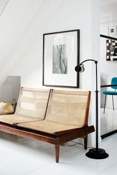 Wicker Furniture Has Made a Comeback! - Wit & Delight The Best of home interior in - Home Decoration - Interior Design Ideas Canapé Design, Deco Design, Design Case, House Design, Design Trends, Design Ideas, Patio Design, Rattan Furniture, Home Furniture