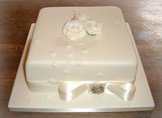 Clic Single Tier Square Cakes Wedding Cake Designs Mini Tortillas