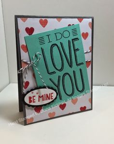 Stampin' Fun with Diana: Styin' Stampin' INKspiration January Blog Hop: New Occasions Catalog Fun, Valentine's, Big on You, You Plus Me, Stampin' Up, Diana Eichfeld