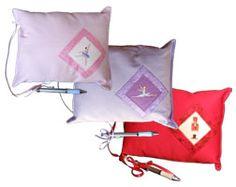 Colorful Ballet Autograph Pillows with Pen - Nutcracker Ballet Gifts & Fundraisers