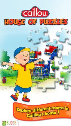 Caillou House of Puzzles!