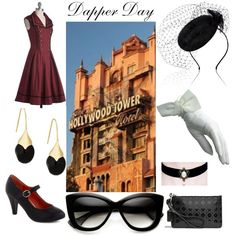 """""""Dapper Day Tower of Terror""""  on Polyvore"""