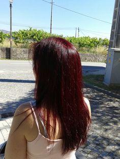 De castanho a vermelho lindíssimo.