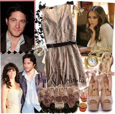 Designer Clothes, Shoes & Bags for Women Melinda Gordon, Jennifer Love Hewitt, Ghost Whisperer Style, Polyvore Dress, New Outfits, Fashion Outfits, Dress Cuts, Gilmore Girls, Classy Dress