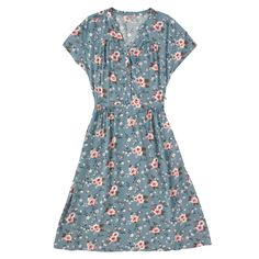 Button Front Viscose Dress | Dresses | CathKidston