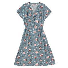 Button Front Viscose Dress | Cath Kidston |