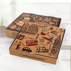 Take your pizza business to the advanced level on this coming Christmas Eve. Get advanced custom pizza boxes which are designed by the one and only The Custom Packaging. Sandwich Packaging, Food Box Packaging, Cool Packaging, Paper Packaging, Custom Packaging, Shirt Packaging, Product Packaging, Pizza Menu Design, Food Stall Design