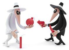 Spy vs. Spy Toys MCA Store :: Museum of Contemporary Art, Chicago