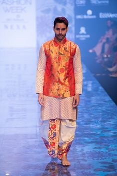 New Gaurang 2019 Lakme Fashion Week Collection - Wedding Dresses Men Indian, Wedding Outfits For Groom, Wedding Dress Men, Mens Kurta Designs, Blouse Designs, Dress Designs, Blouse Patterns, Mens Traditional Wear, Traditional Outfits