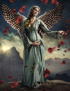 Vikings - Season 2 Keyart - Princess Aslaug