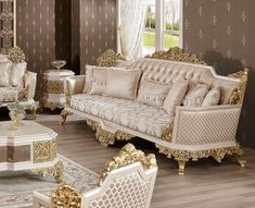 Luxury Dining Room, Luxury Sofa, Dining Set, Victorian Fashion, Couch, Elegant, Furniture, Home Decor, Dinning Set