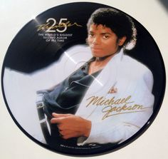 Michael Jackson - Thriller 25 Picture Disc LP Vinyl Record Album, Epic - 88697353391-1, 2008, Original Pressing