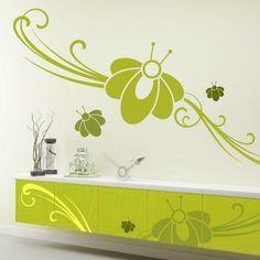 Szablon malarski - Kwiaty   Paint template - Flowers   20,09 PLN #paint #template #flowers #home_decor #interior_decor #design #wall_decor #szablon #szablon_malarski #kwiaty #kwiatek #dekoracja_ściany #dekoracja_wnętrza