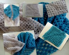 Crochet debutants& shawl - The Thousand Mailed Trunk - Janine Paziot - - Manta Crochet, Freeform Crochet, Crochet Stitches, Crochet Round, Diy Crochet, Double Crochet, Crochet Pattern, Bonnet Crochet, Easy Model