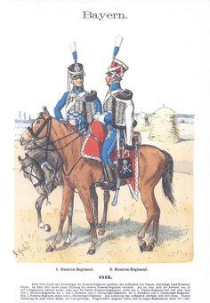 Band IV #42.- Bayern. Husaren. 1816.