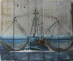 Holzbilder/-Deko - Palettes Galerie