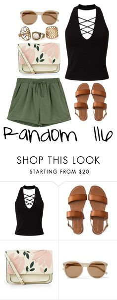 """""""Random 116"""" by megan-walz21 ❤ liked on Polyvore featuring Miss Selfridge, Aéropostale, Accessorize and Yves Saint Laurent"""